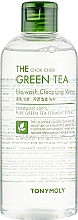 Profumi e cosmetici Acqua detergente viso - Tony Moly The Chok Chok Green Tea No-Wash Cleansing Water