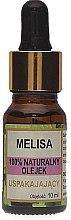Profumi e cosmetici Olio naturale di melissa - Biomika Melisa Oil