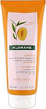 Profumi e cosmetici Balsamo per capelli - Klorane Nourishing Conditioner With Mango Butter
