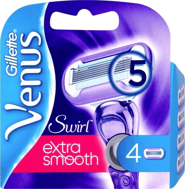 Lamette sostituibili, 4 pezzi - Gillette Venus Swirl — foto N1