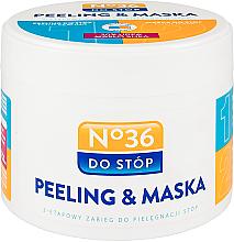 Profumi e cosmetici Maschera-peeling per piedi - Pharma CF No.36 Peeling & Mask