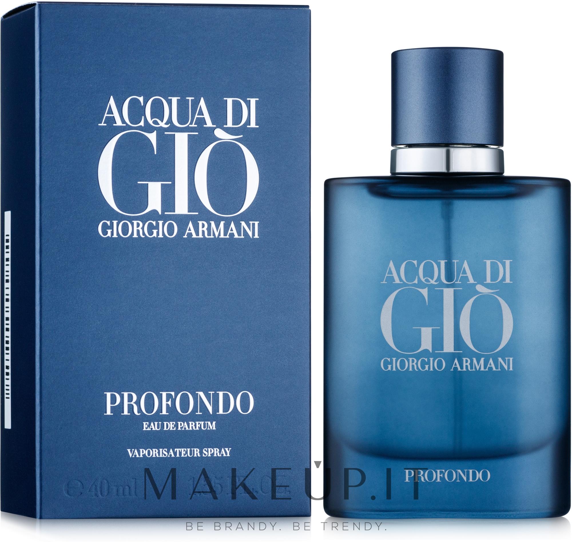 Giorgio Armani Acqua di Gio Profondo - Eau de Parfum — foto 40 ml