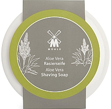 """Profumi e cosmetici Sapone da barba in ciotola """"Aloe vera"""" - Muhle Aloe Vera Shaving Soap"""