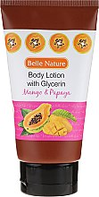Profumi e cosmetici Balsamo corpo - Belle Nature Body Lotion With Mango & Papaya