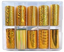 Profumi e cosmetici Set fogli alluminio - Deni Carte Gold Holo