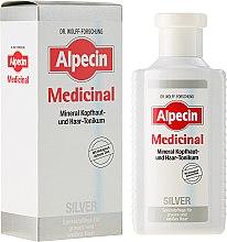 Profumi e cosmetici Tonico antigiallo per capelli grigi - Alpecin Medicinal Silver