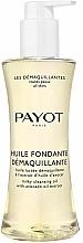 Profumi e cosmetici Olio struccante e detergente per pelli normali e miste - Payot Les Demaquillantes Huile Fondante Demaquillante Milky Cleansing Oil