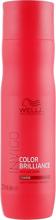 Shampoo per capelli tinti - Wella Professionals Invigo Brilliance Coarse Hair Shampoo