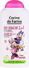 "Profumi e cosmetici Shampoo gel doccia 2 in 1 ""Minnie"" - Corine de Farme Disney Minnie Mouse"