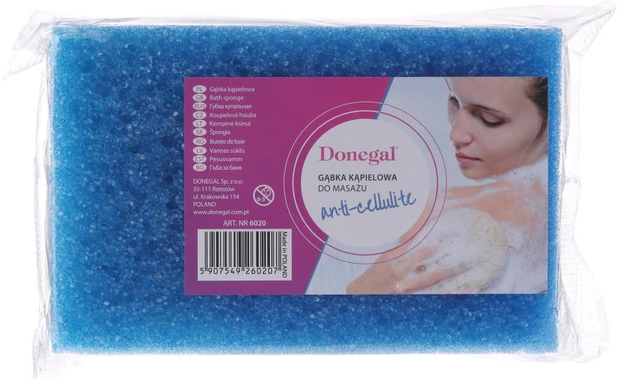 Spugna bagno-doccia 6020, blu - Donegal Cellulose Sponge — foto N1