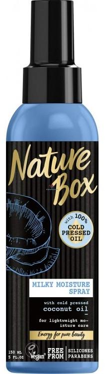 Spray per capelli con olio di cocco - Nature Box Coconut Oil Milky Moisture Spray — foto N1