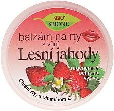 """Profumi e cosmetici Balsamo per labbra """"Frutti di bosco"""" - Bione Cosmetics Lip Balm"""