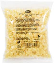 """Cera depilatoria in granuli """"Naturale"""" - Ronney Hot Film Wax Natural"""