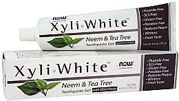 "Profumi e cosmetici Dentifricio-gel ""Neem e tea tree"" - Now Foods XyliWhite Neem & Tea Tree Toothpaste Gel"