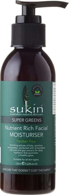 Super idratante viso - Sukin Super Greens Facial Moisturiser