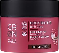 Profumi e cosmetici Burro corpo - GRN Rich Elements Shea Body Butter