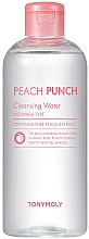Profumi e cosmetici Acqua detergente viso - Tony Moly Peach Punch Cleansing Water