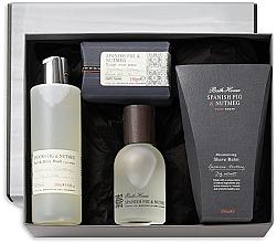 Profumi e cosmetici Bath House Spanish Fig and Nutmeg - Set (edc/100ml + sh/gel/260ml + shave/balm/100ml + soap/150g)