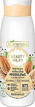Profumi e cosmetici Latte da bagno e doccia - Bielenda Beauty Milky Regenerating Almond Shower & Bath Milk