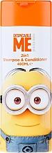 Profumi e cosmetici Shampoo-condizionante per bambini - Corsair Despicable Me Minions 2in1 Shampoo&Conditioner