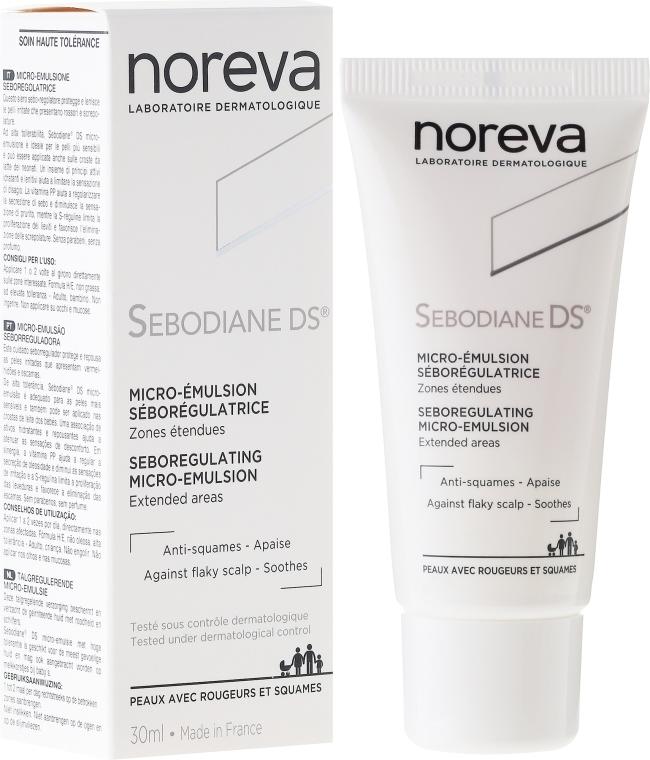"""Emulsione """"Seboregolazione"""" - Noreva Sebodiane DS Sebum-Regulating Micro-Emulsion"""