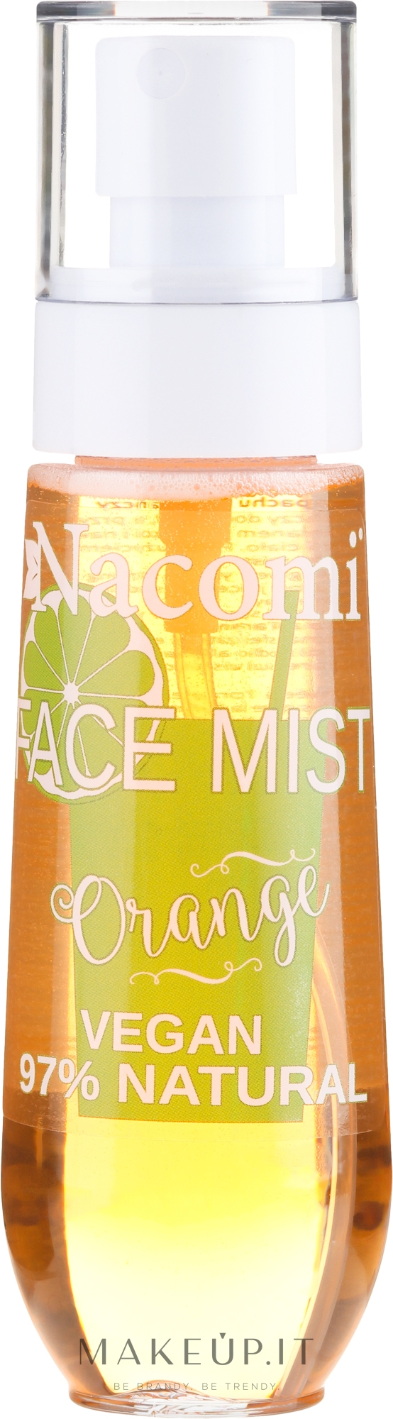 "Spray viso ""Agrumi"" - Nacomi Face Mist Orange — foto 80 ml"