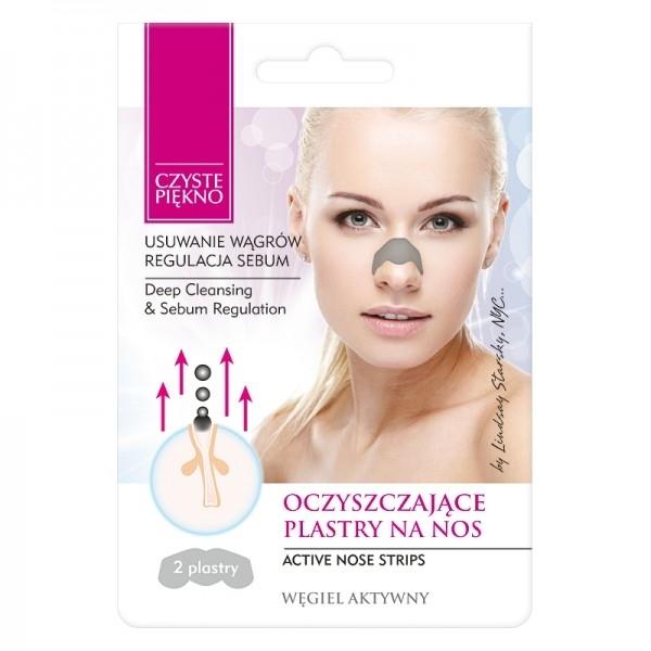 Cerotti per la rimozione dei punti neri dal naso - Czyste Piekno Nose Pack