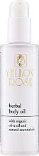 Profumi e cosmetici Olio corpo nutriente - Yellow Rose Herbal Body Oil