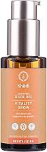 Profumi e cosmetici Olio per capelli rivitalizzante - Khadi Ayurvedic Vitality Grow Hair Oil