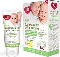 """Profumi e cosmetici Dentifricio per bambini """"Mela-banana"""", 0-3 anni - SPLAT Kids"""