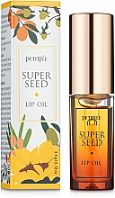 Profumi e cosmetici Olio per labbra - Petitfee&Koelf Super Seed Lip Oil