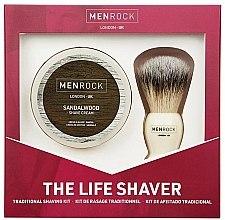 Profumi e cosmetici Set - Men Rock The Life Shaver Sandalwood Kit (brush/1pcs + sh/cr/100ml)
