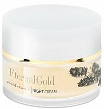 Profumi e cosmetici Crema antirughe da notte - Organique Eternal Gold Night Cream