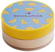 "Profumi e cosmetici Cipria ""Banana Powder"" - I Heart Revolution Loose Baking Powder Banana"