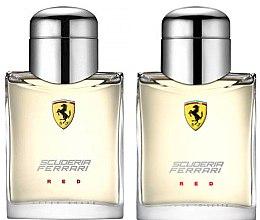 Profumi e cosmetici Ferrari Scuderia Ferrari Red - Set (edt/75ml + ash/lot/75ml)
