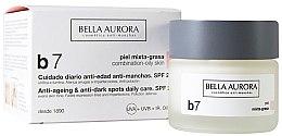 Profumi e cosmetici Crema antimacchia per pelli miste e grasse - Bella Aurora B7 Combination/Oily Skin Daily Anti-Dark Spot Care