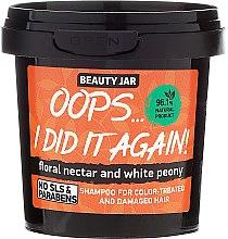 """Shampoo per capelli tinti e danegiati """"Oops…I did it again!"""" - Beauty Jar Shampoo For Colour-Treated And Damaged Hair — foto N1"""