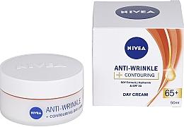Profumi e cosmetici Cream da giorno 65+ - Nivea Anti-Wrinkle Contouring Day Care 65+