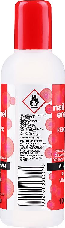 Solvente vitaminico per unghie - Venita Vitamin A+E+F Nail Enamel Remover — foto N2