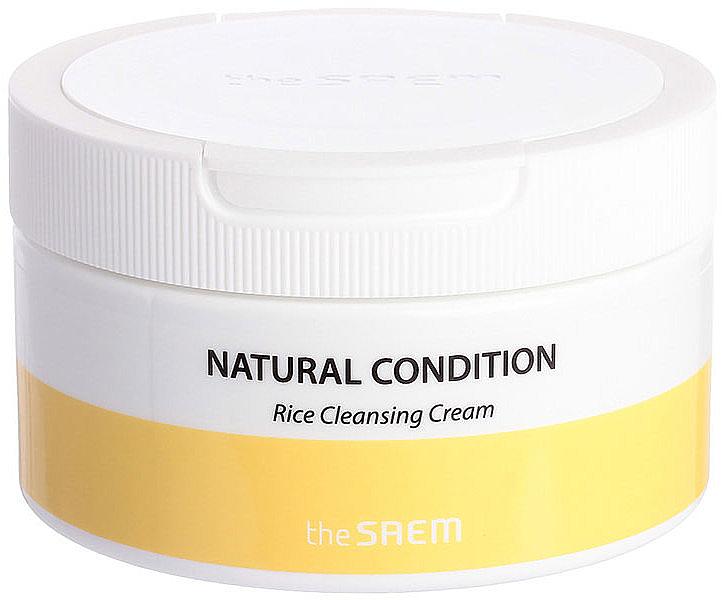 Crema detergente all'estratto di riso - The Saem Natural Condition Rice Cleansing Cream