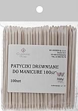 Profumi e cosmetici Bastoncini d'arancio per manicure, 100 pz. - Charmine Rose