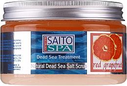 """Profumi e cosmetici Scrub corpo al sale """"Pompelmo rosso"""" - Saito Spa Salt Body Scrub Red Grapefruit"""