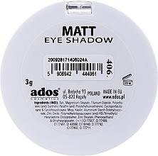 Ombretto opaco - Ados Matt Effect Eye Shadow — foto N6