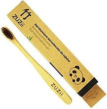 Profumi e cosmetici Spazzolino da denti per bambini con setole morbide marroni - Zuzii Kids Soft Toothbrush