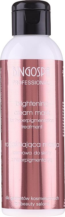 Maschera-crema schiarente per la pelle con iperpigmentazione - BingoSpa Artline Brightening Cream Mask — foto N1
