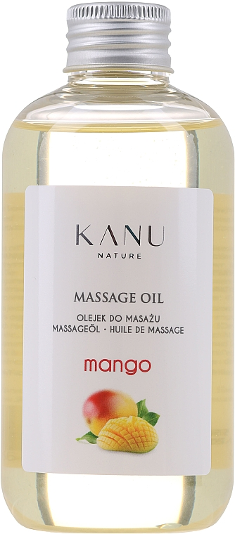 "Olio da massaggio ""Mango"" - Kanu Nature Mango Massage Oil"