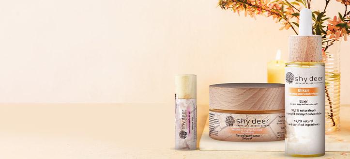 Acquistando qualsiasi prodotto Shy Deer, riceverai in regalo un olio labbra naturale