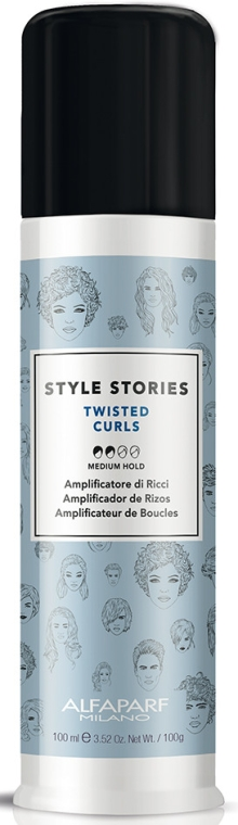 Crema per capelli - Alfaparf Style Stories Twisted Curls Medium Hold