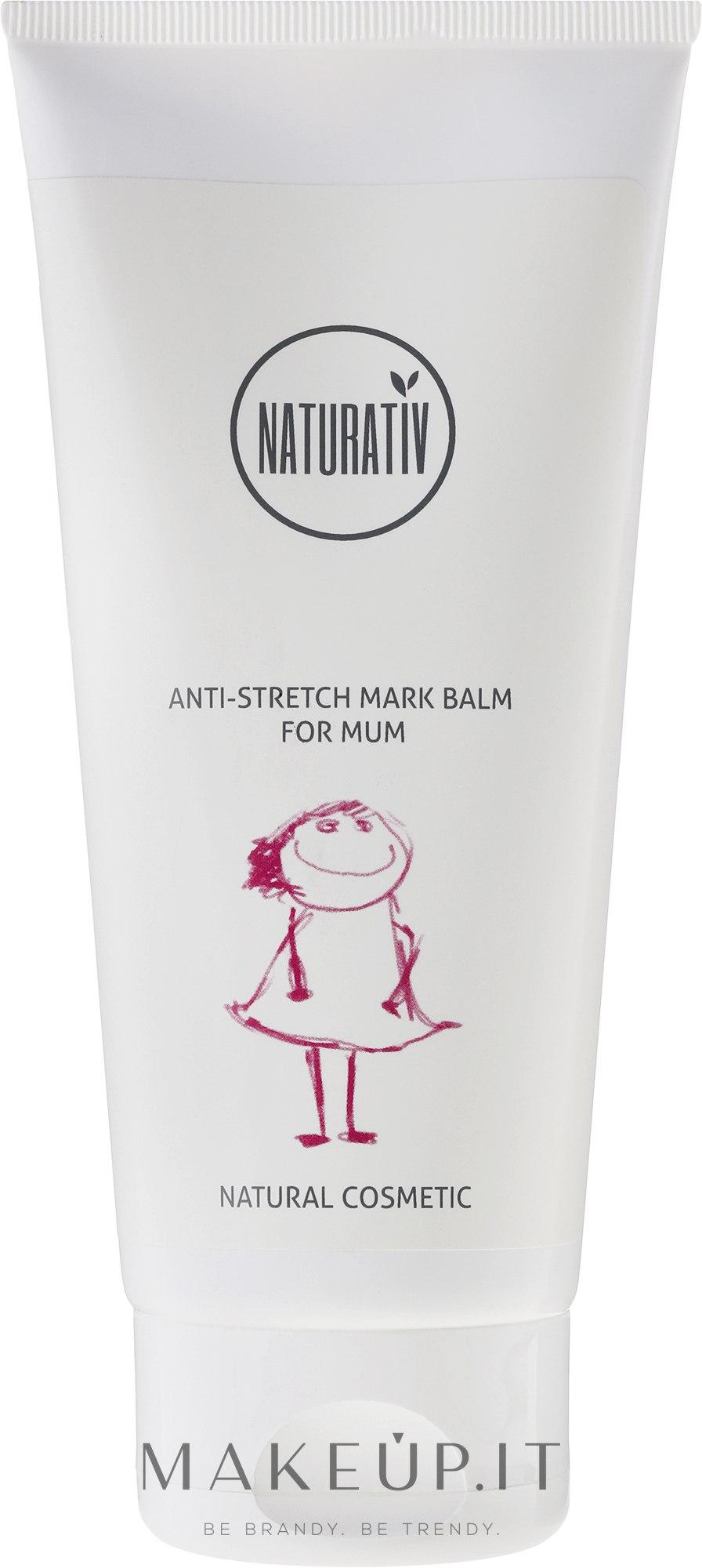 Balsamo anti-smagliature - Naturativ Anti-stretch Mark Balm For Mum — foto 200 ml