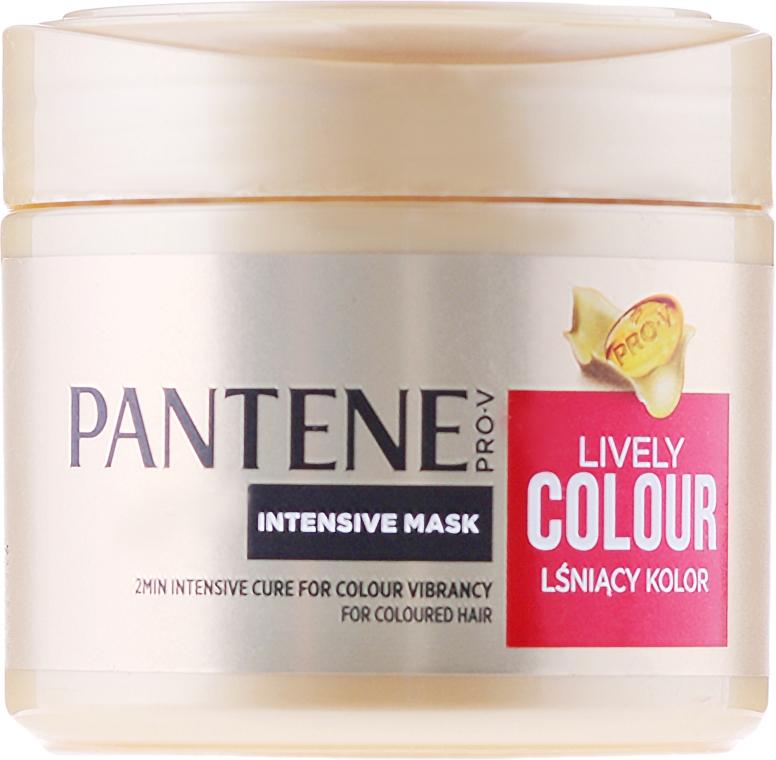 """Maschera intensiva """"Protezione del colore e brillantezza"""" - Pantene Pro-V Lively Colour  — foto N1"""